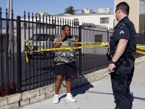 LAPD Minority Report Precrimen