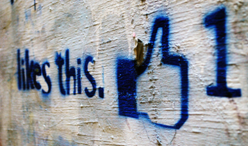 Facebook muro me gusta like