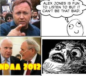 Alex Jones McCain Carl Levin NDAA 2010